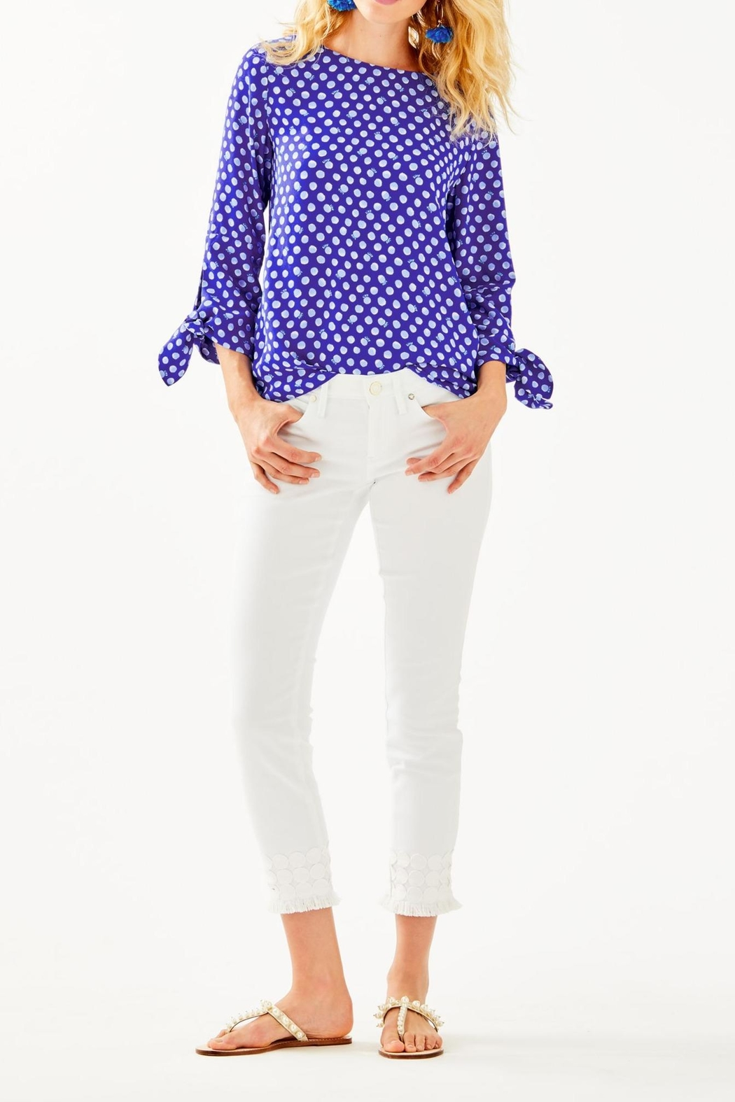 Lilly Pulitzer Langston Top - Side Cropped Image