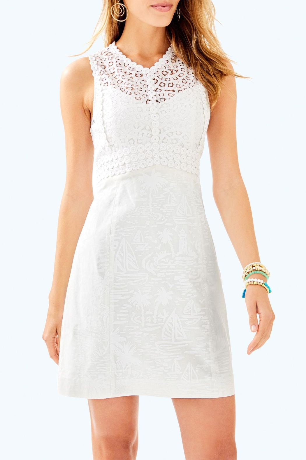 Lilly Pulitzer Leigh Stretch-Shift Dress - Main Image