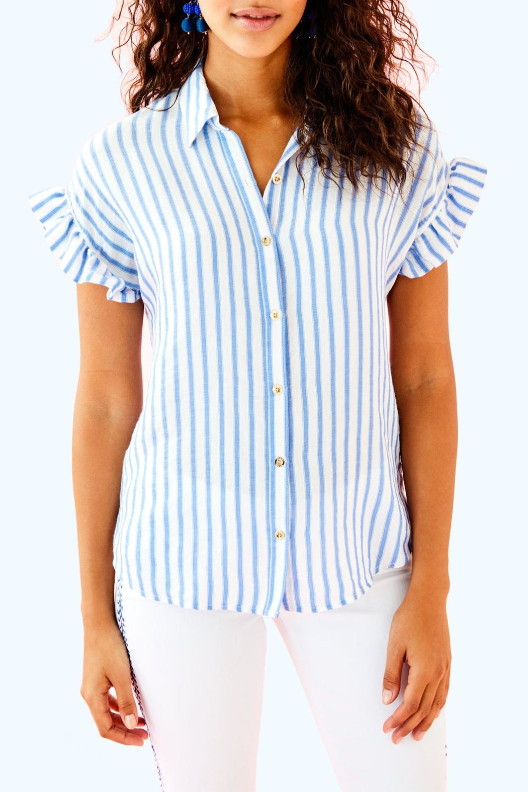 Lilly Pulitzer Leighton Shirt - Main Image