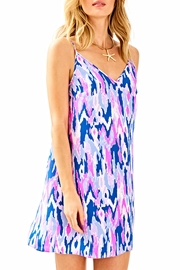 Lilly Pulitzer Lela Silk Dress - Front cropped