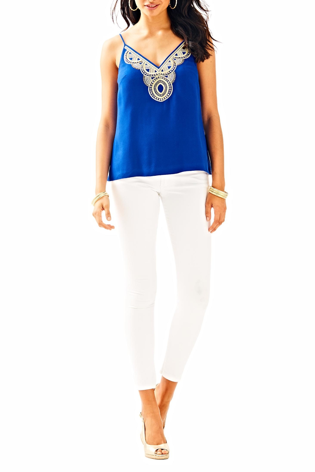 Lilly Pulitzer Lela Top - Side Cropped Image