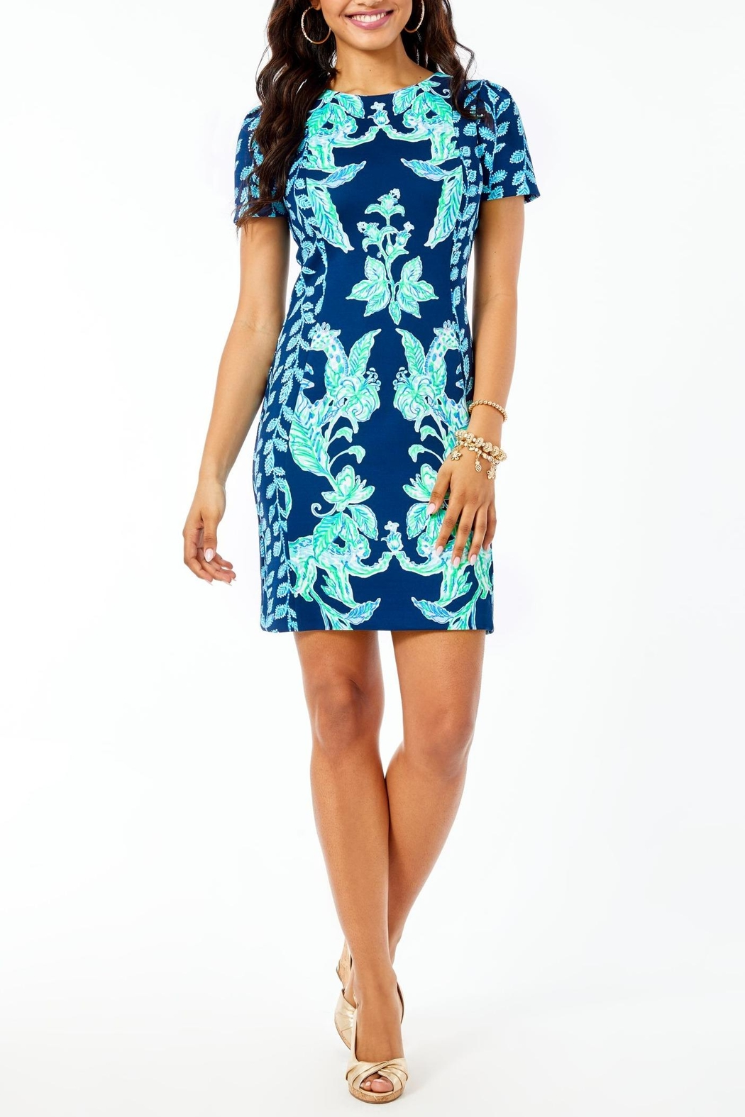 Lilly Pulitzer Lelicia Dress - Back Cropped Image