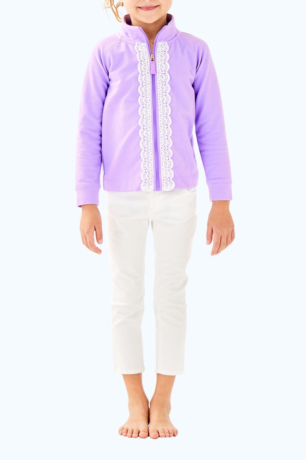 Lilly Pulitzer Leona Zip Up - Main Image