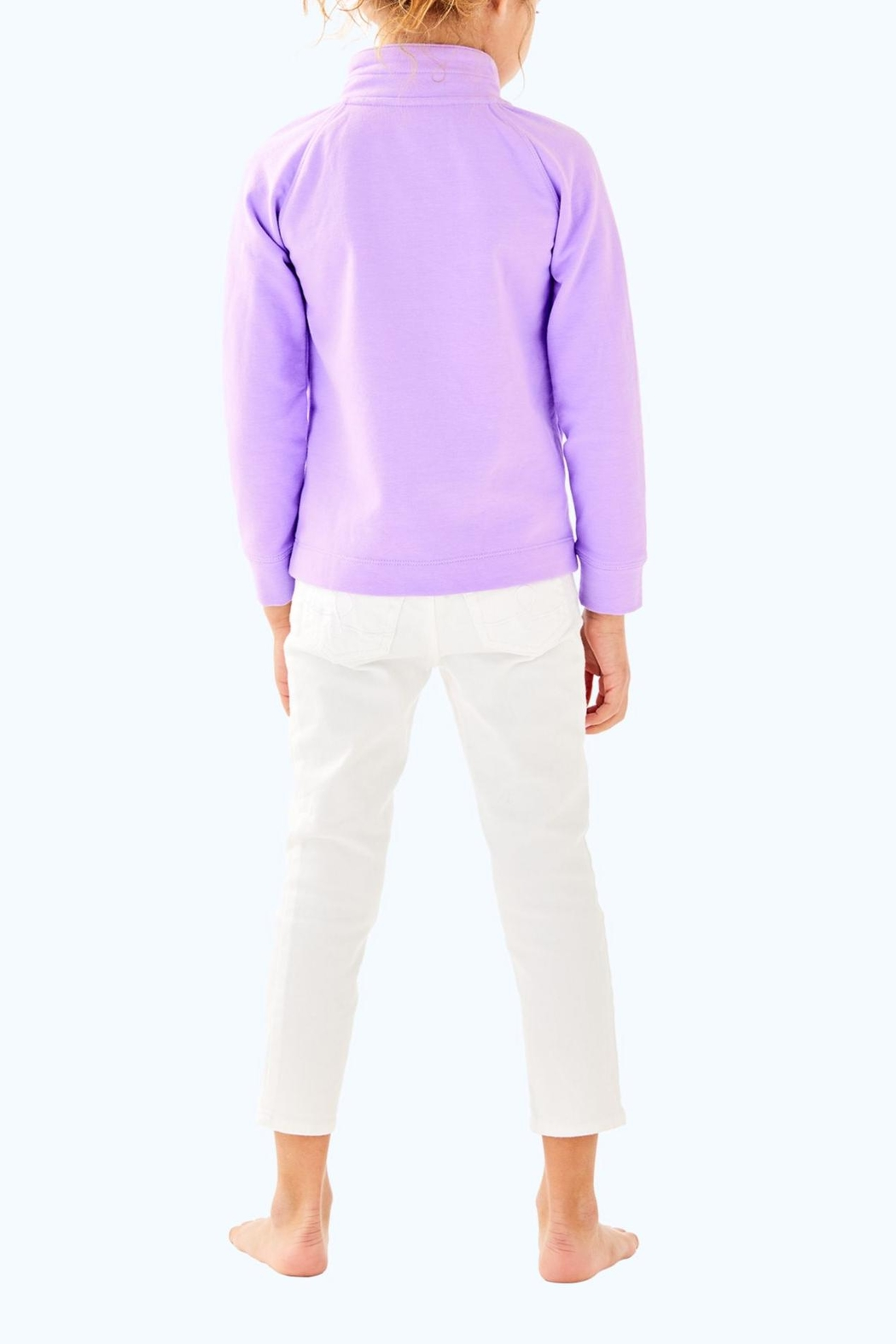 Lilly Pulitzer Leona Zip Up - Front Full Image