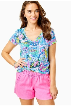 Lilly Pulitzer Lilo Linen Short - Product List Image