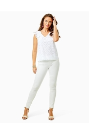 Lilly Pulitzer Lina Eyelet Top - Side cropped