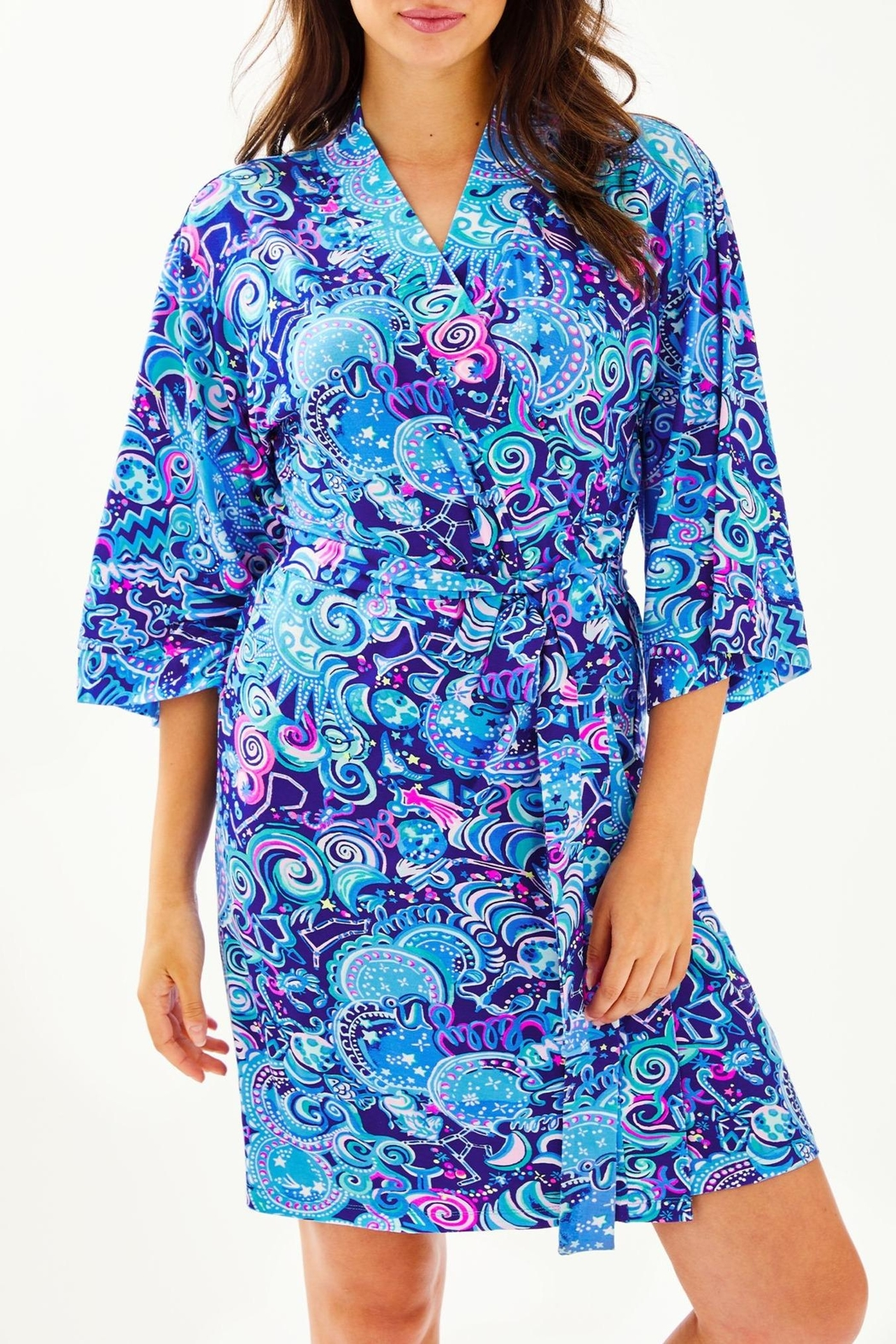 Lilly Pulitzer Lina Robe - Front Cropped Image