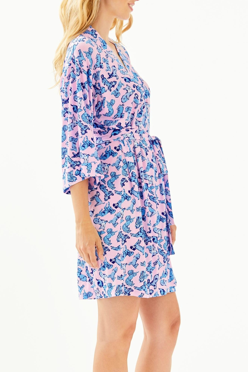 Lilly Pulitzer Lina Robe - Side Cropped Image
