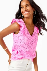 Lilly Pulitzer Lina Top - Product Mini Image