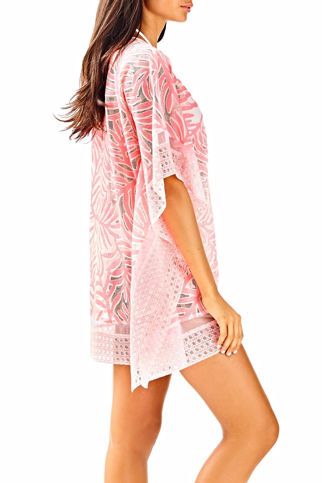 Lilly Pulitzer Lindamarie Coverup - Side Cropped Image