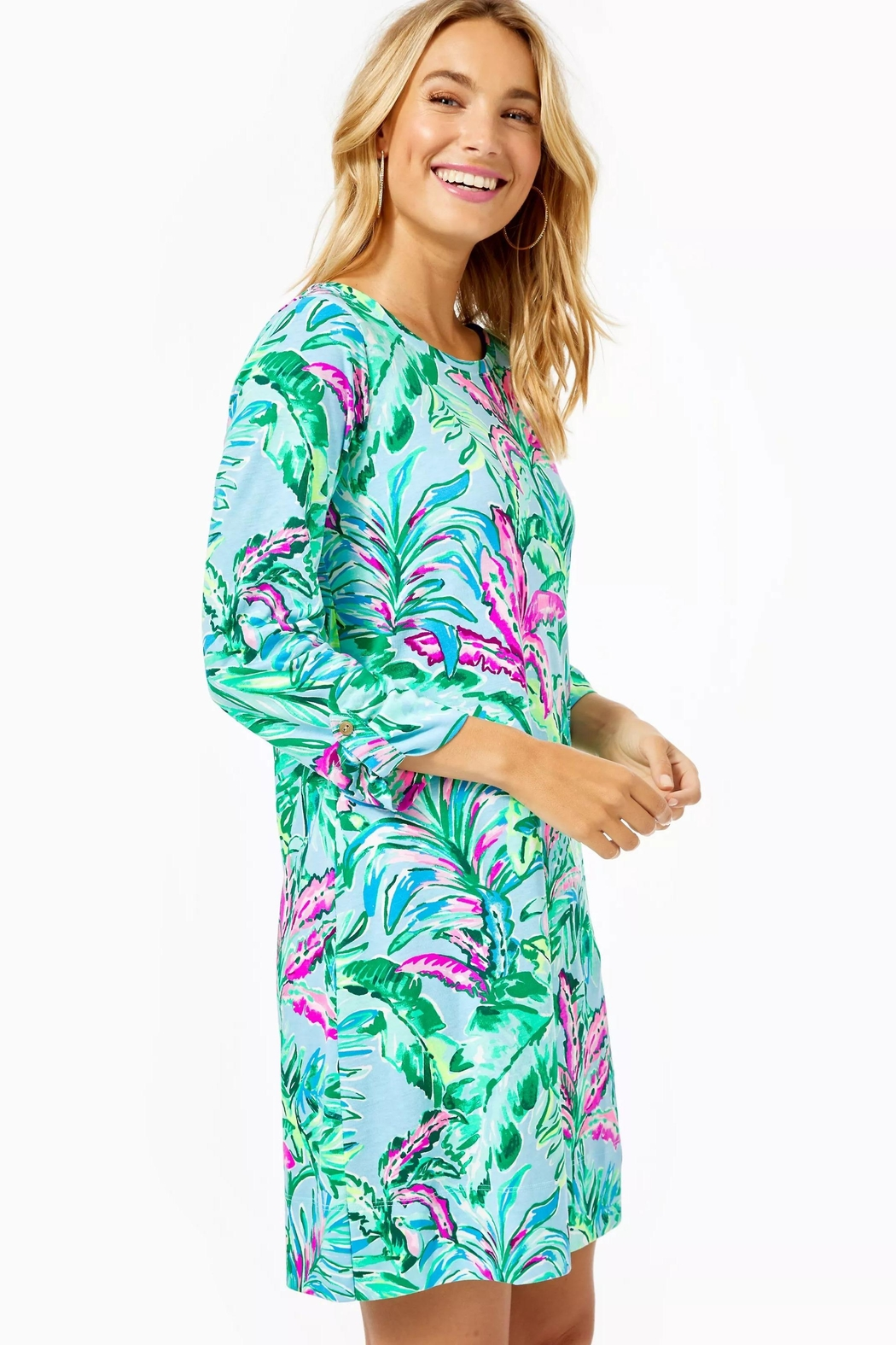 Lilly Pulitzer Linden Dress - Side Cropped Image