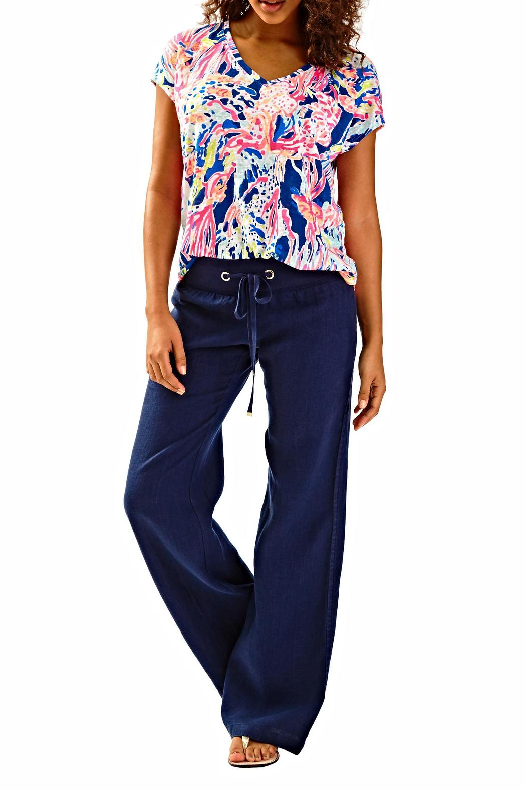 Lilly Pulitzer Linen Beach Pant From Sandestin Golf And