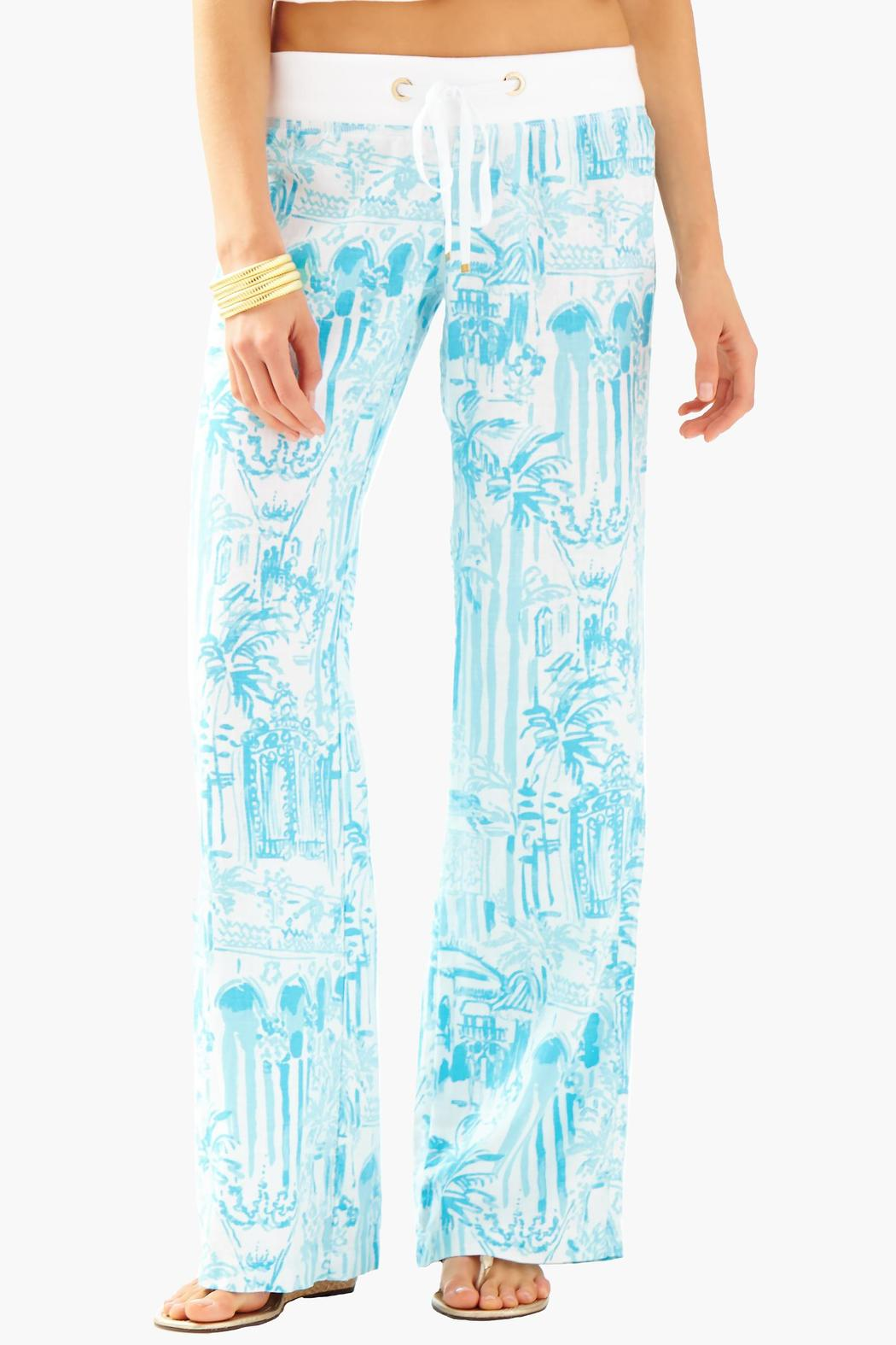 6dfb711907 Lilly Pulitzer Linen Beach Pant from Sandestin Golf and Beach Resort ...