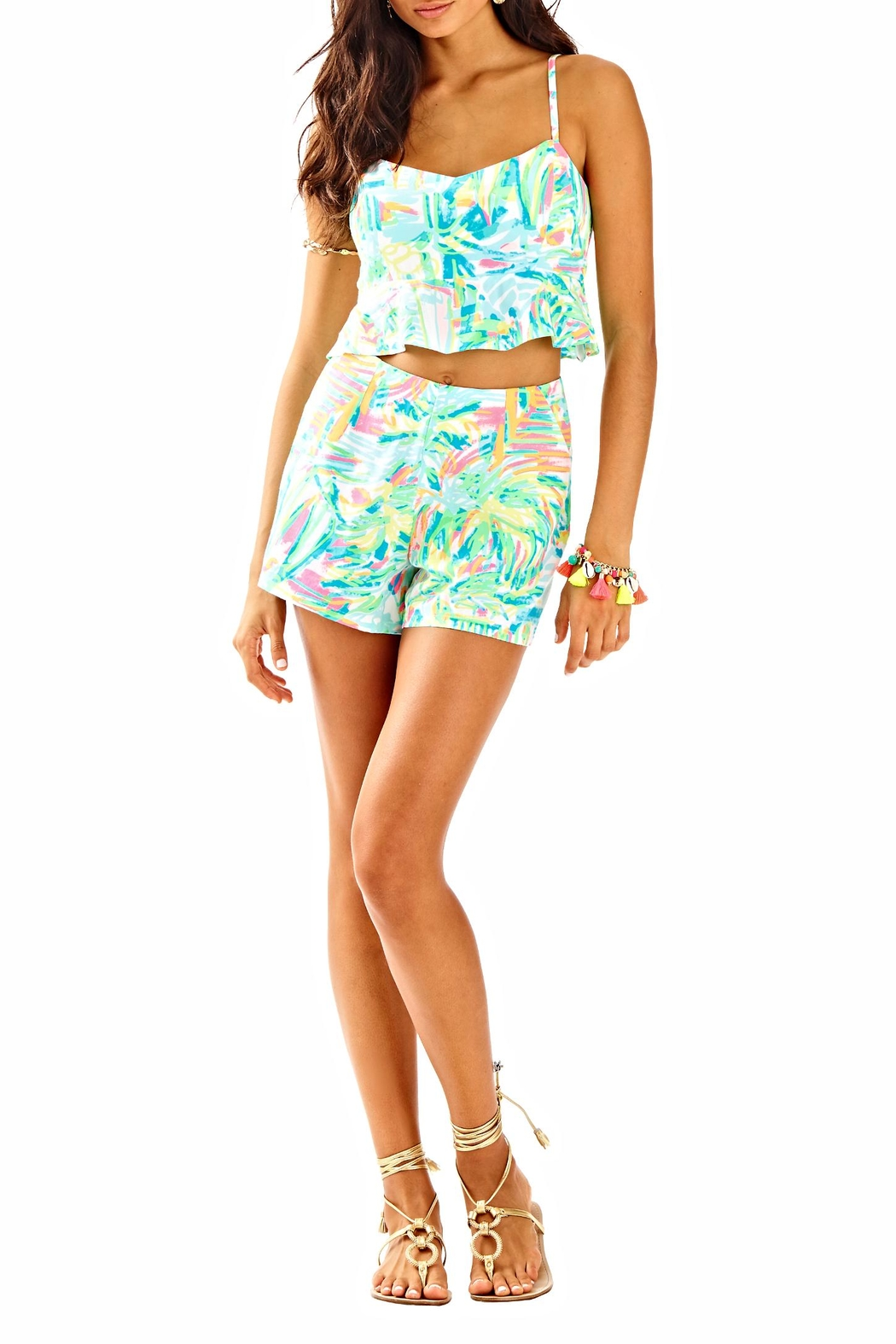 Lilly Pulitzer Two Piece Set - Back Cropped Image