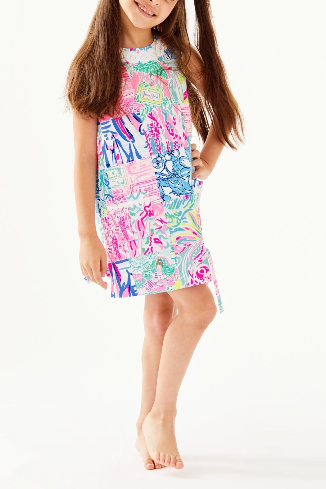 Lilly Pulitzer Little Classic Shift - Side Cropped Image
