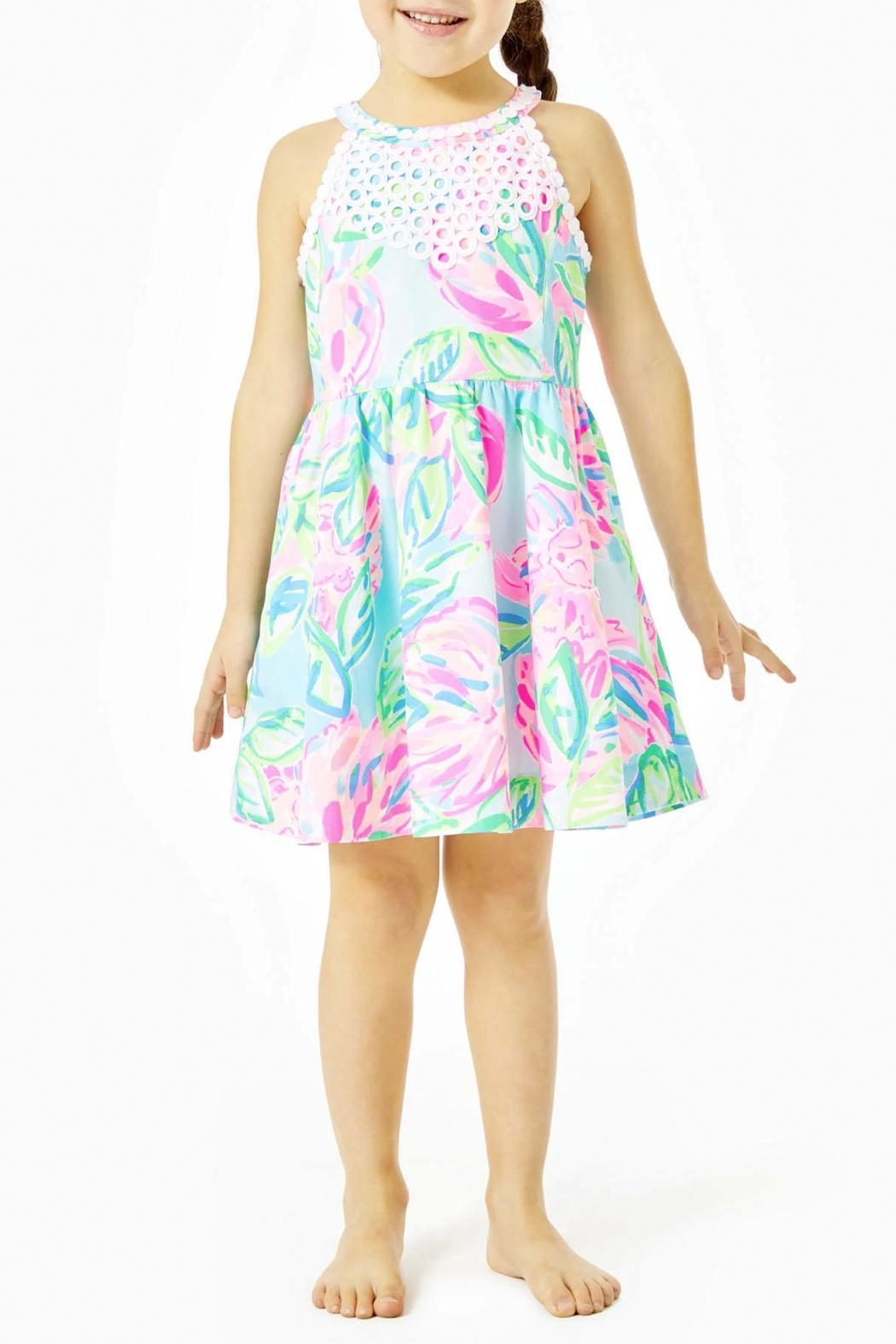 Lilly Pulitzer Little Kinley Dress - Main Image