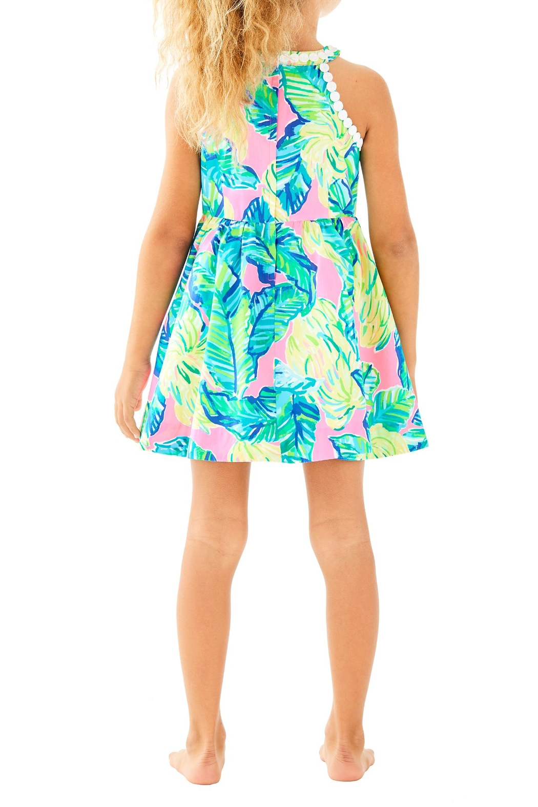 Lilly Pulitzer Little Kinley Dress - Front Full Image