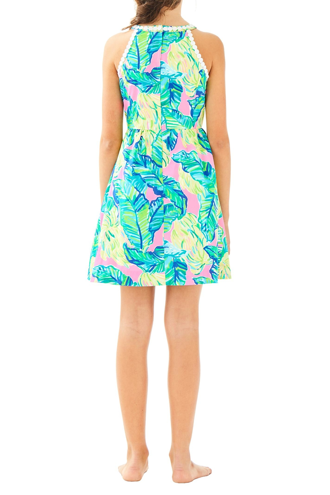 Lilly Pulitzer Little Kinley Dress - Back Cropped Image