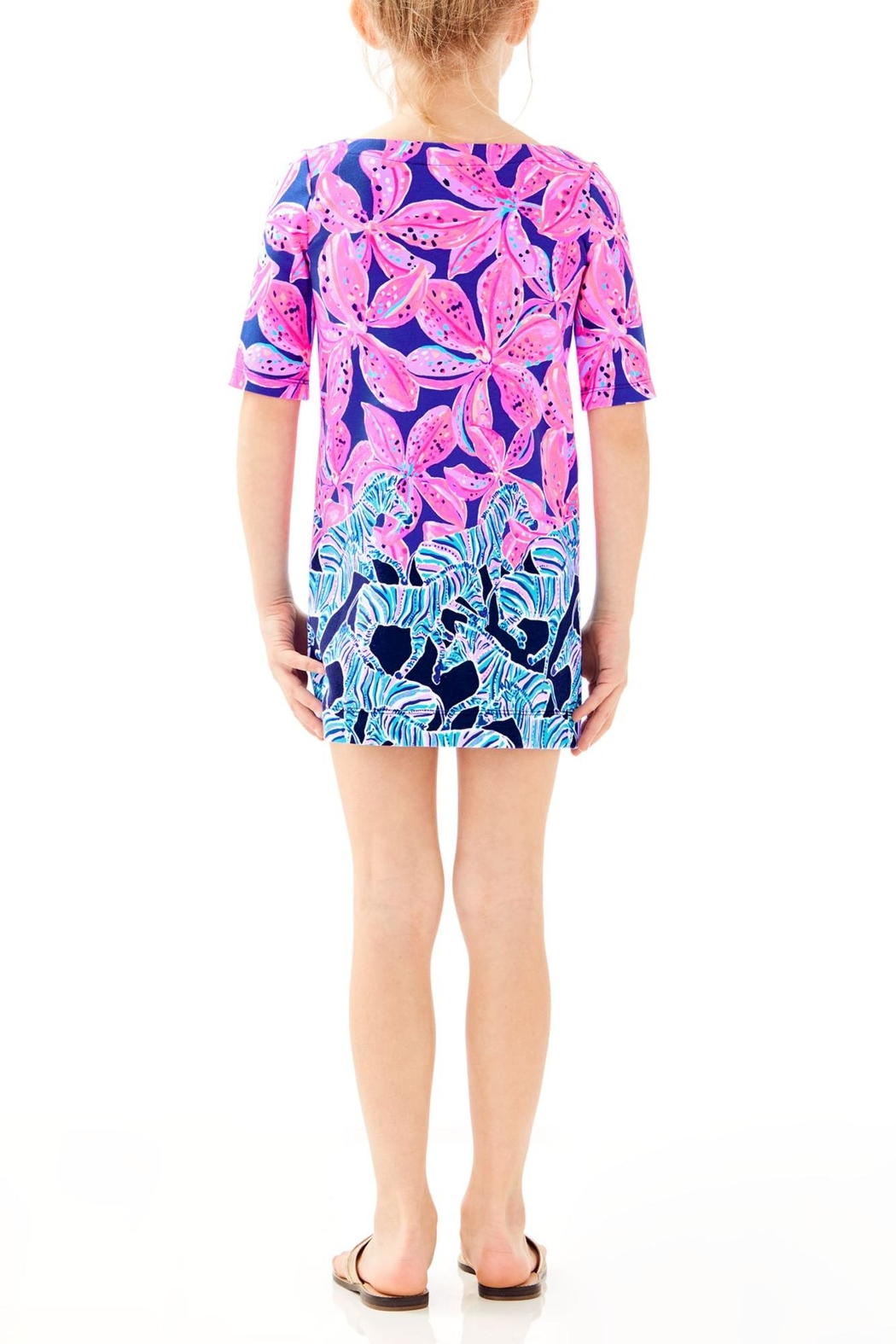 Lilly Pulitzer Little Lilah Dress - Front Full Image