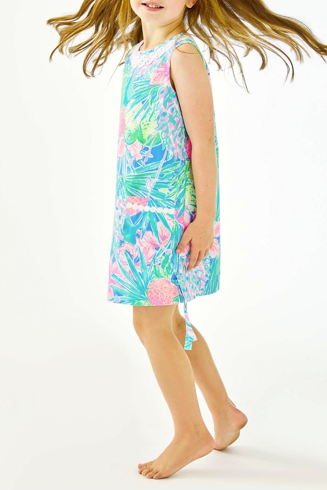 Lilly Pulitzer Little-Lilly Classic Shift - Back Cropped Image
