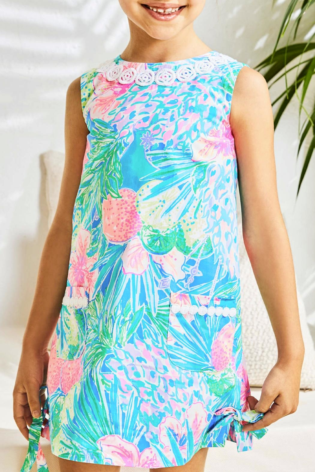 Lilly Pulitzer Little-Lilly Classic Shift - Side Cropped Image