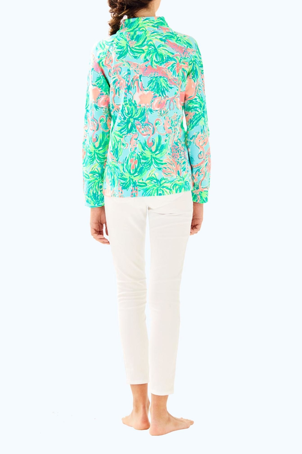 Lilly Pulitzer Little Skipper Popover - Back Cropped Image