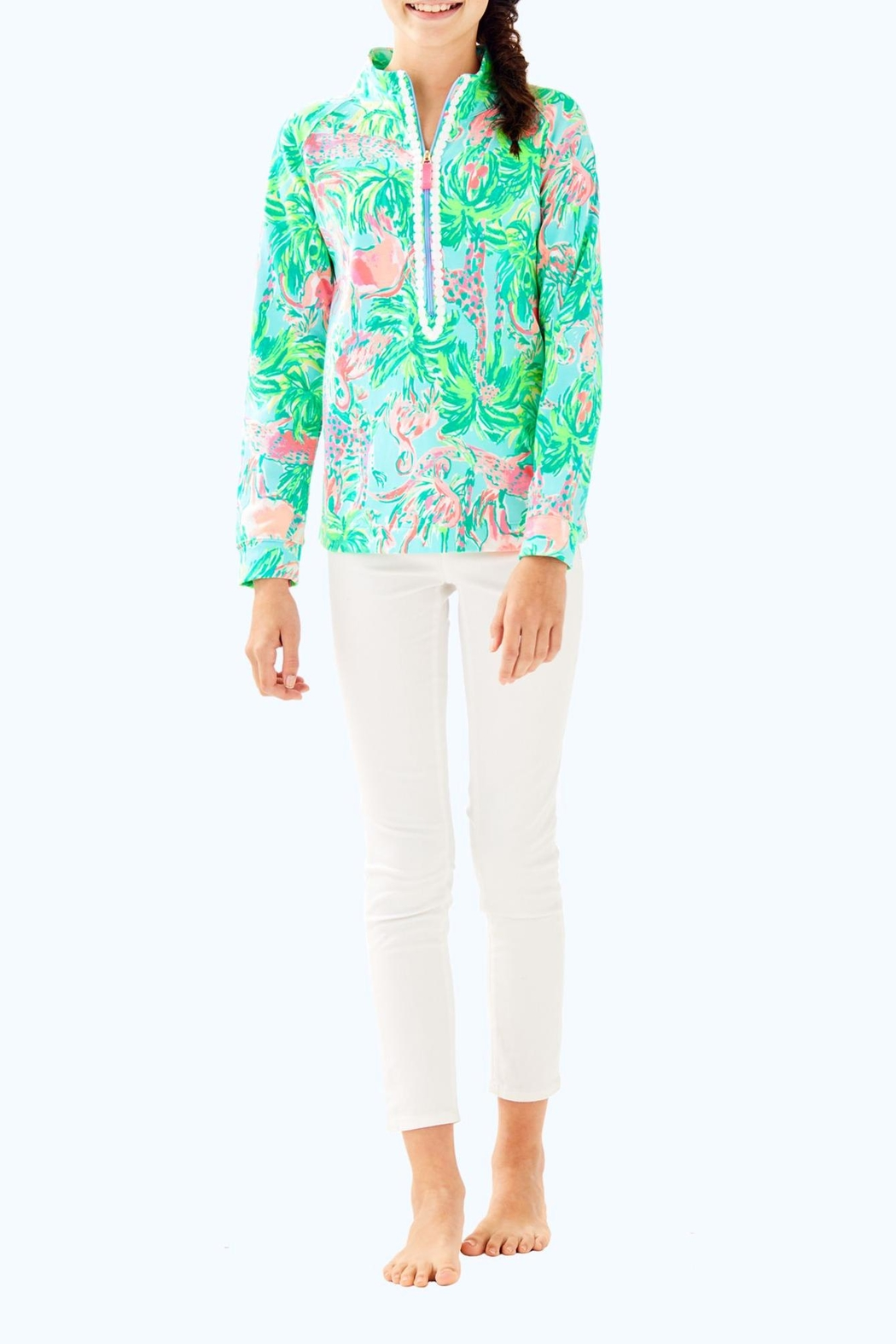 Lilly Pulitzer Little Skipper Popover - Side Cropped Image