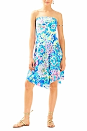 Lilly Pulitzer Loleta Strapless Dress - Product Mini Image