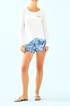 Lilly Pulitzer Louella Sequin Top - Alternate List Image