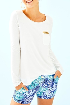 Lilly Pulitzer Louella Sequin Top - Product List Image