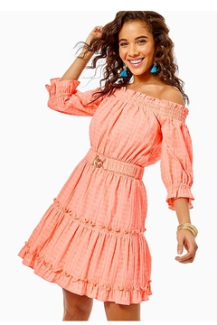 Lilly Pulitzer Louisa Off-The-Shoulder Dress - Product List Image