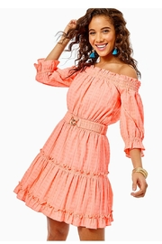 Lilly Pulitzer Louisa Off-The-Shoulder Dress - Product Mini Image