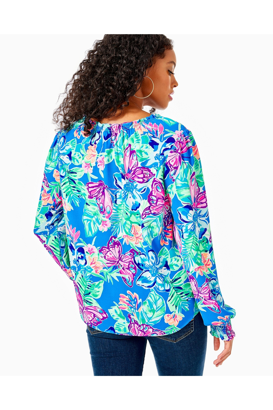 Lilly Pulitzer Luce Top - Front Full Image