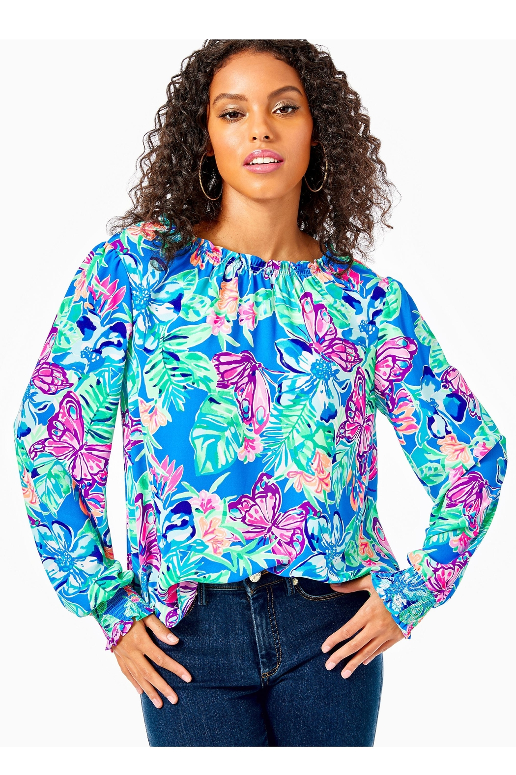Lilly Pulitzer Luce Top - Main Image
