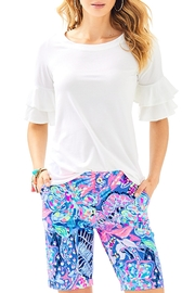 Lilly Pulitzer Lula Top - Front cropped