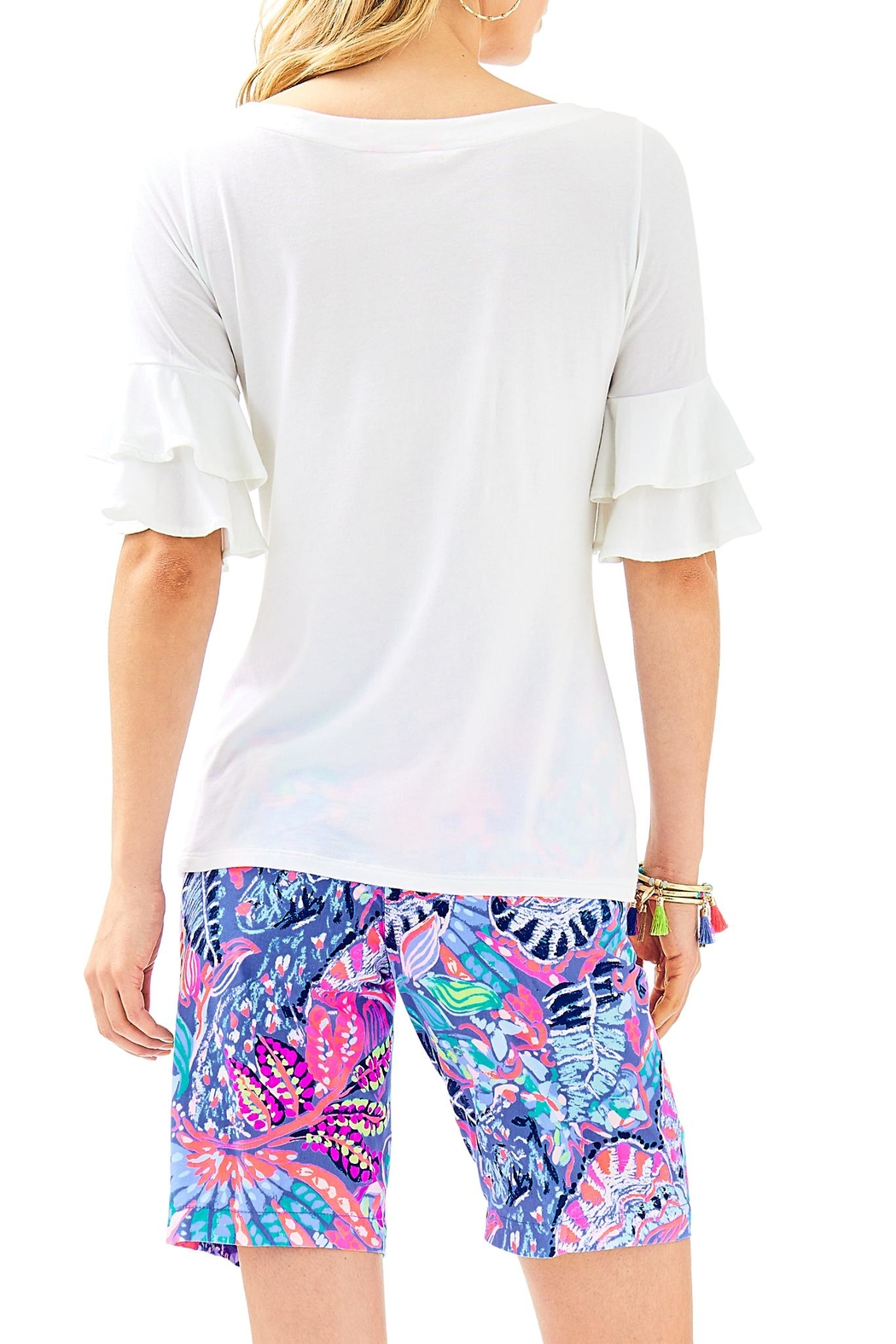 Lilly Pulitzer Lula Top - Front Full Image