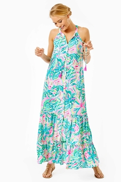 Shoptiques Product: Luliana Swing-Maxi Dress