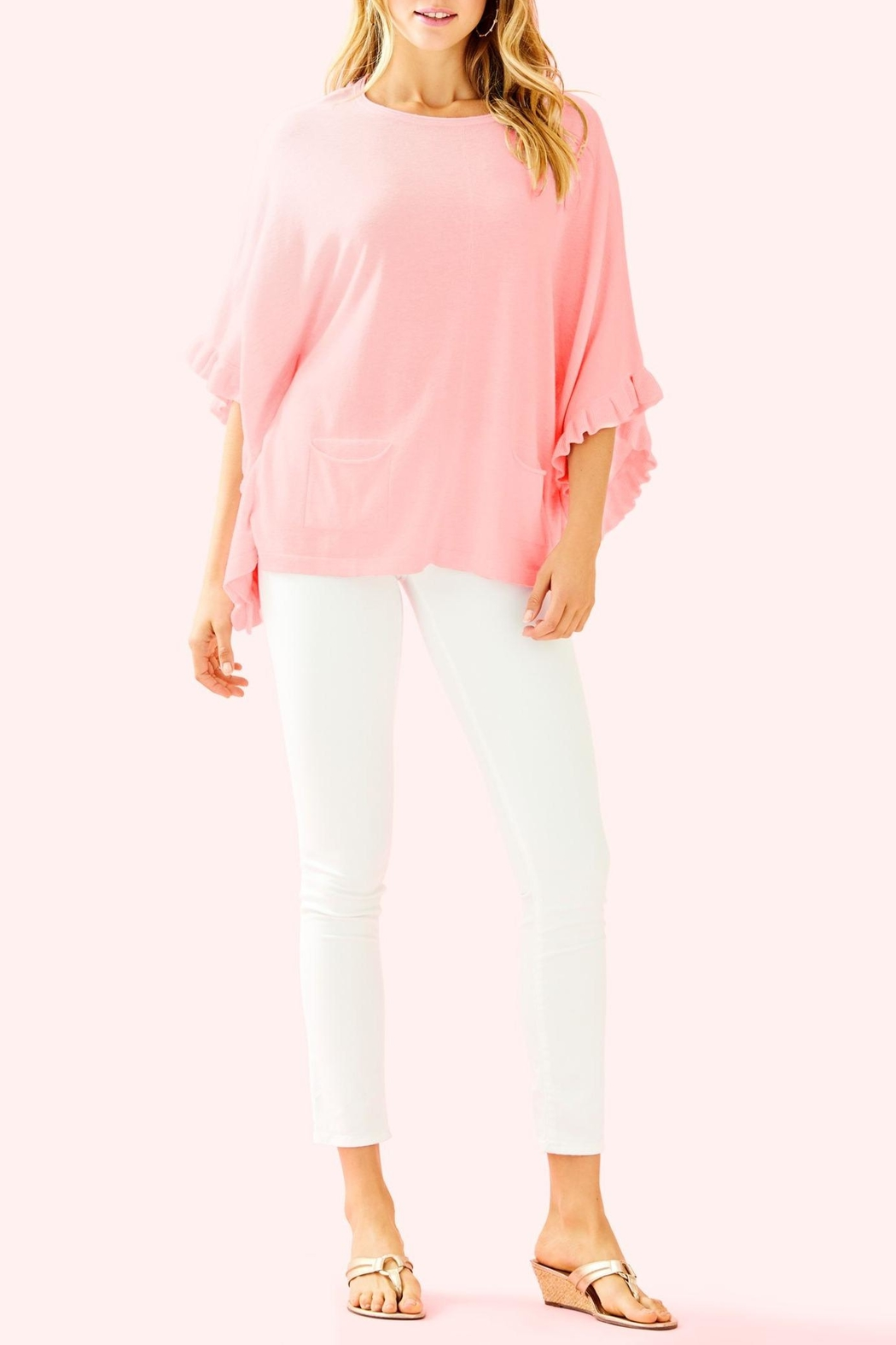 Lilly Pulitzer Lune Sweater - Side Cropped Image