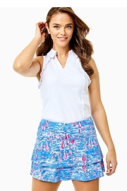Lilly Pulitzer Luxletic Adlai Skort - Front cropped