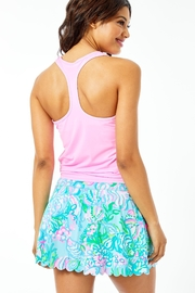 Lilly Pulitzer Luxletic Aila Scallop-Skort - Front full body