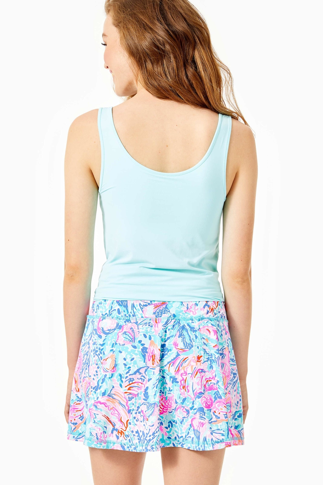 Lilly Pulitzer Luxletic Aila Skort - Front Full Image