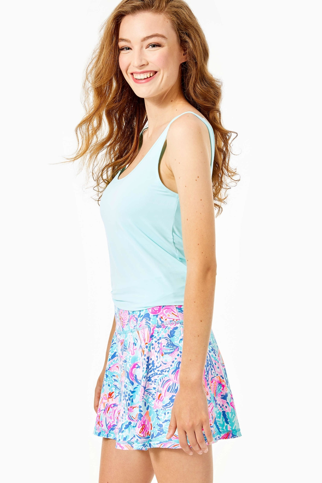Lilly Pulitzer Luxletic Aila Skort - Side Cropped Image