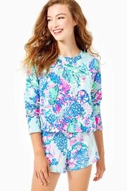 Lilly Pulitzer Luxletic Alex Crewneck-Pullover - Product Mini Image