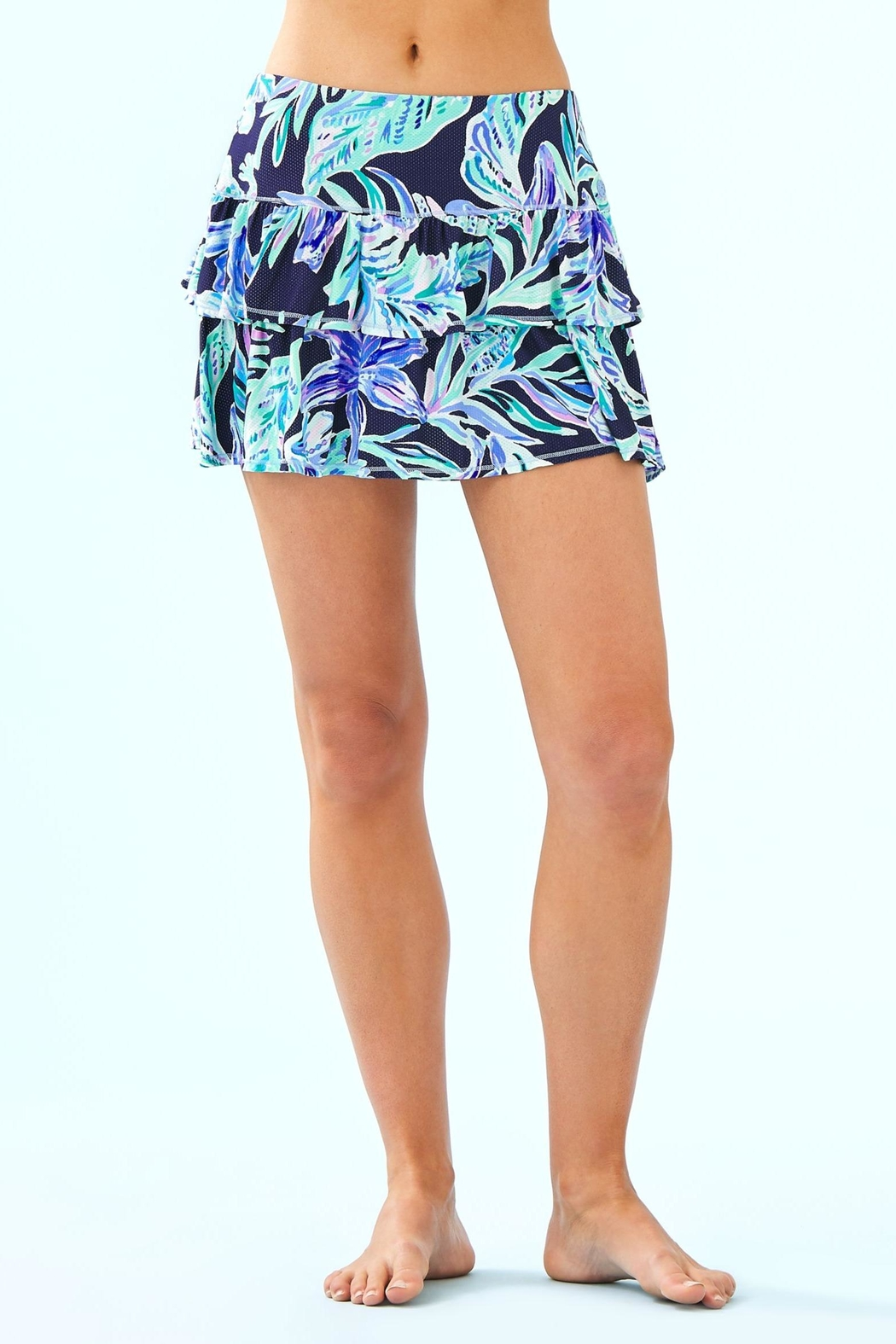 Lilly Pulitzer Luxletic Althea Active-Skort - Main Image
