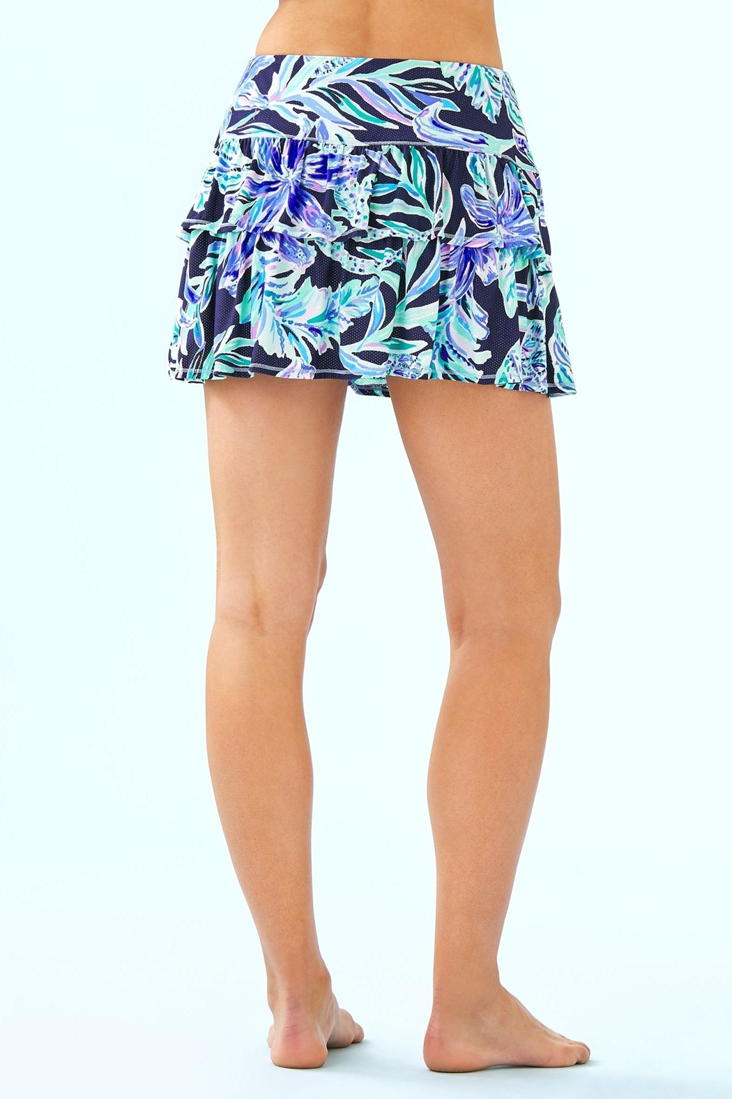 Lilly Pulitzer Luxletic Althea Active-Skort - Front Full Image