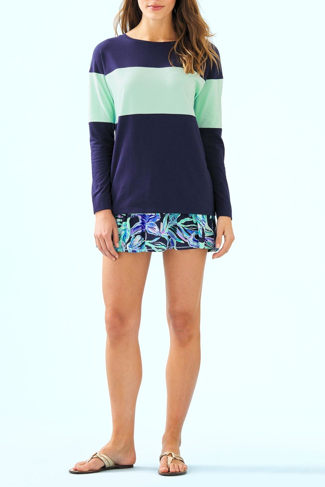 Lilly Pulitzer Luxletic Althea Active-Skort - Back Cropped Image
