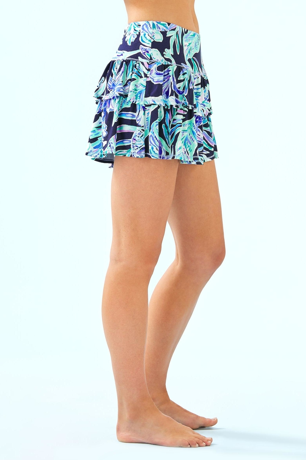 Lilly Pulitzer Luxletic Althea Active-Skort - Side Cropped Image