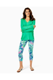 Lilly Pulitzer Luxletic Areli Pullover - Back cropped