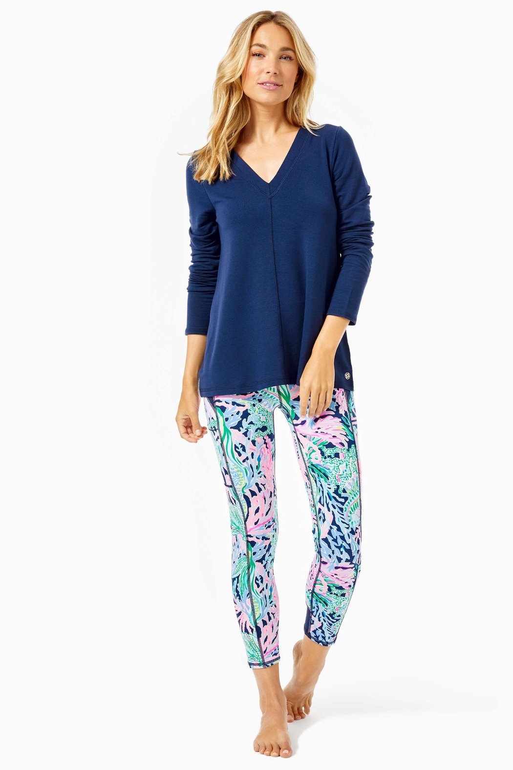 Lilly Pulitzer Luxletic Areli Pullover - Side Cropped Image