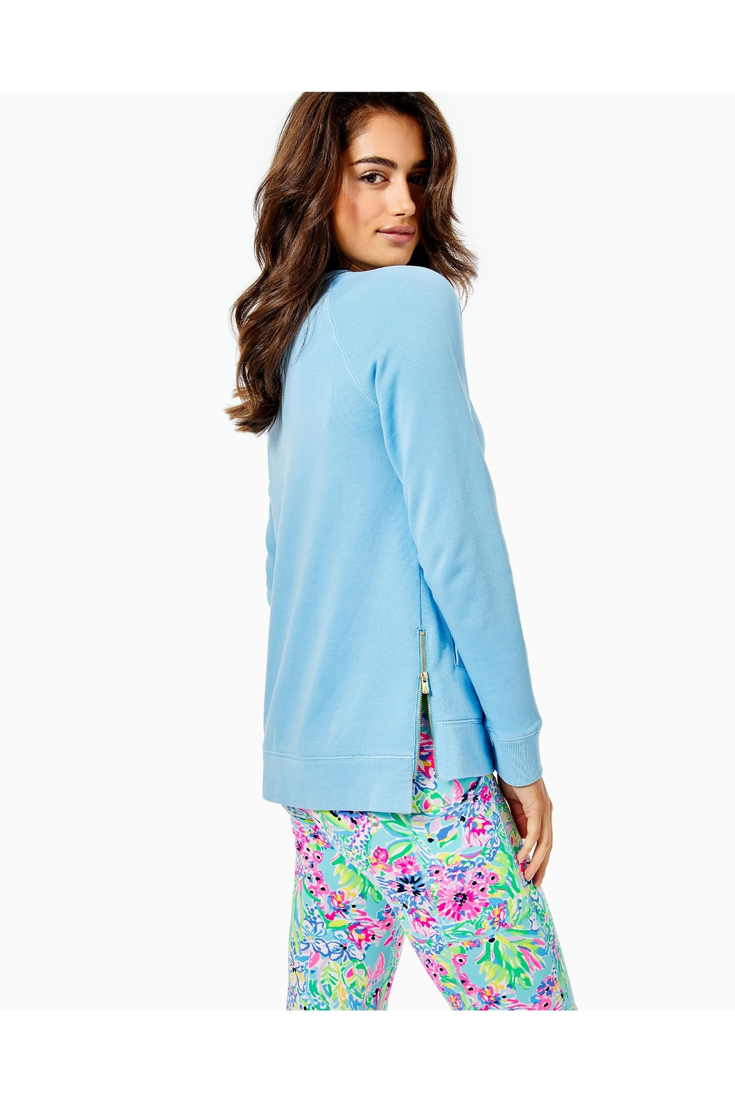 Lilly Pulitzer Luxletic Beach-Comber Pullover - Front Full Image
